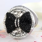 Black Bow Compact Mirror