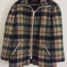 Vintage 1970's Plaid Pendleton Wool Hunting Jacket Lumberjack Coat Unisex
