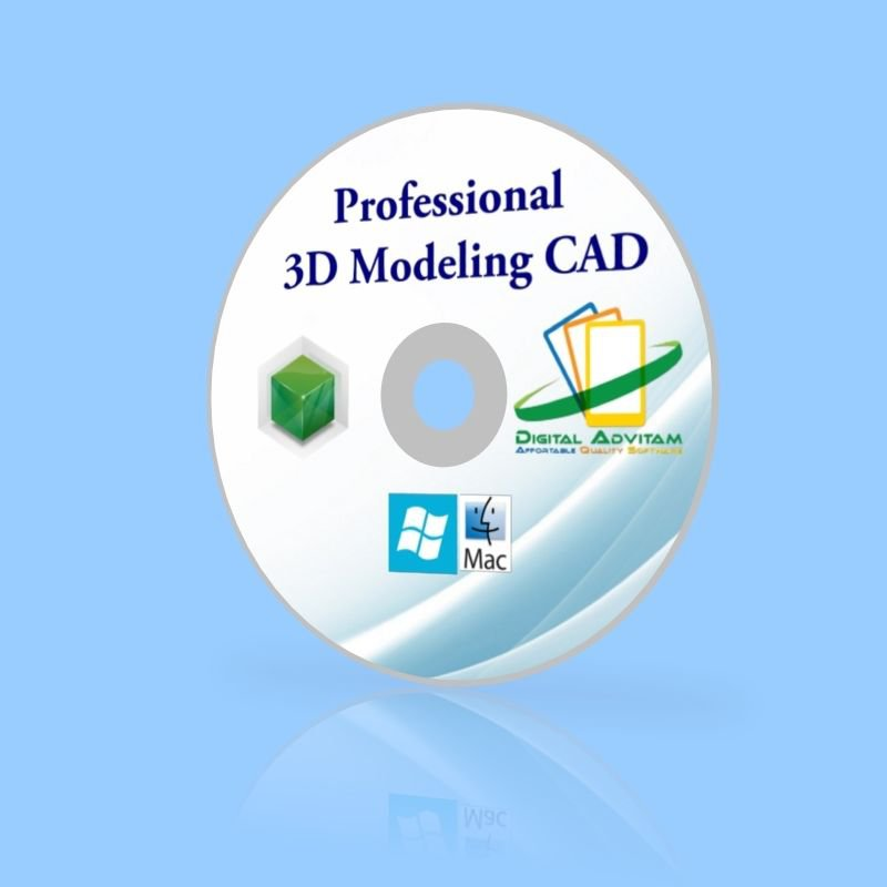 2017 Cad Software 3d Solid Modeling Design Pc Windows Xp