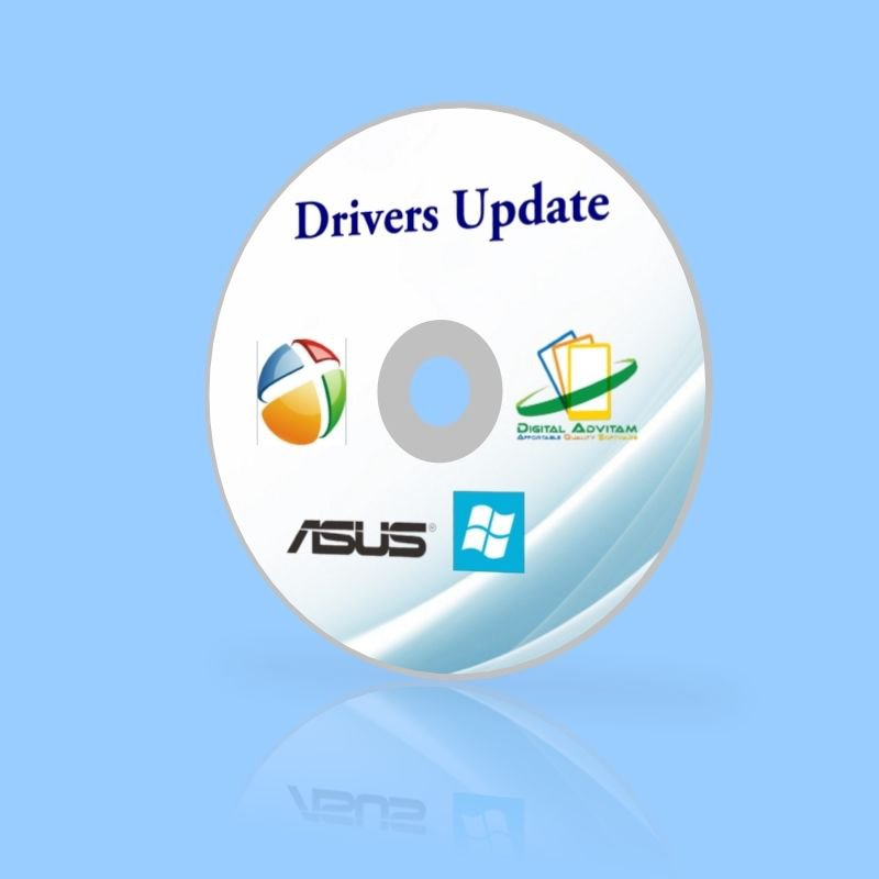 Drivers Recovery Restore ASUS N61jq Laptops Repair Windows 8 7 Vista XP Disc