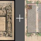 King James Bible 1611 First Edition Apocrypha & Gutenberg Latin 1462 DVD PDF