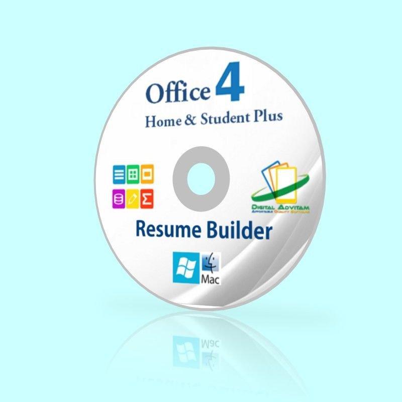 resume builder template open office home  u0026 student suite