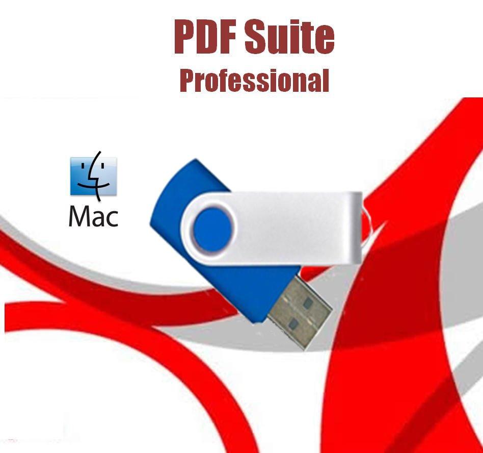 2019 Professional PDF Suite Convert Create Split Merge Mac