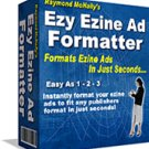 Ezy Ezine Ad Formatter Retail Value $97.95