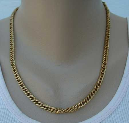 Curb Link Chain Necklace 19-inches long Jewelry