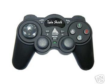 2 in 1 Twin Shock USB Game Pad with Warranty