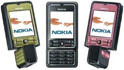 NOKIA 3250 USED IN MINT CONDITION WITH 6MONTH WARRANTY