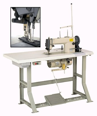 SINGLE NEEDLE INDUSTRIAL SEWING MACHINE