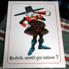Hendrik, would you believe? colorful PRINT set of 10(ten) prints on heavy paper