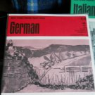 German Language training set -33 1/3 RPM - Record Study Series c.1965
