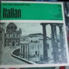 ITALIAN Language set- 33 1/3 RPM - Record Study Series c.1965