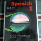 SPANISH #I - 5 1/4 FLOPPY DISKS -tutorial for beginning - IBM PC