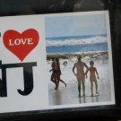 I LOVE N.J.-- AT THE BEACH- UNUSED