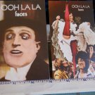 THE FACES* ROD STEWARD postcards of Front & Back of cover of OOH LA LA-Unused