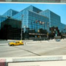 JAVITS CENTER with yellow taxi POSTCARD