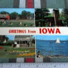 Greetings from STATE OF IOWA POSTCARD