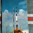 VANGUARD poised to launch at Cape Canaveral Florida postcard