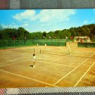 The Concord hotel @ Kiamesha Lake NY *tennis court for swingers? postcard