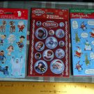 Vintage American Greetings *Christmas // Holiday Stickers~8 Sheets (3 packages)