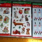 Vintage American Greetings *Christmas // Holiday Stickers~12 Sheets (3 packages)