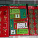 Vintage American Greetings *Christmas // Holiday Stickers~7 Sheets (3 packages)