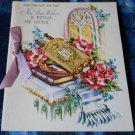 VintageVintage 40s JEWISH NEW YEAR* to Mother & Father with ribbon