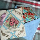 Vintage JEWISH NEW YEAR* for AUNT-tissue lined envelope -RIBBON -FLOWERS