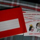 VINTAGE unused FATHER'S DAY*humorous special card 1950s*nesting envelopes