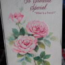 """American Greetings""""To Someone Special  ~9 1/8"""" X 6""""-UNUSED"""