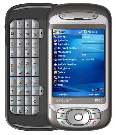 Cingular AT&T HTC 8525 PDA 3G Windows Mobile Phone