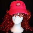 The Game Girl Hot Pink KU Kansas Jayhawks Strapback adjustable baseball Cap hat