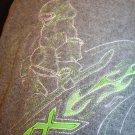 ZeroXposur Boys Navy/Gray/Green Reversible Puffer Ski Coat Jacket Vest Small 4