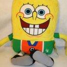 "Sponge Bob Square pants Soccer 2012 Nickelodeon 21"" plush cuddle pillow stuffed"