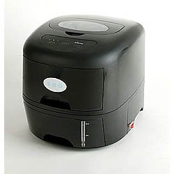SNO Portable Jet Black Ice Maker