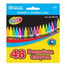Crayons, Premium Quality, 48 Assorted Colors, Vibrant Finish, New in Box (2510)