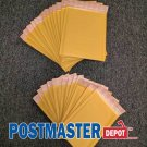"100 Kraft Bubble Mailers Pack | 50 Size #000 4"" x 8"" 