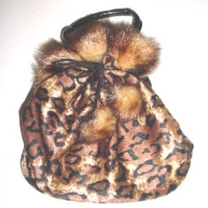 Animal Pull String Purse