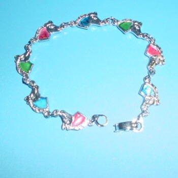 Horse Paua Shell Bracelet