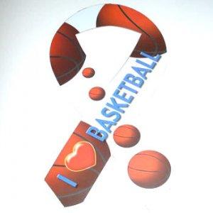 I Love Basketball Car Ribbon Sports Magnet