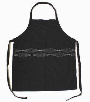 Designer Apron (Black) APPROX £11.99 (FREE UK SHIPPING)