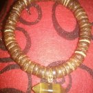 Tiger Eye wooden bracelet