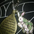 Alice in Wonderland Double Keychain