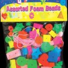 Wholesale BAZIC Assorted Shapes Colored Foam Beads