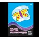 "Wholesale BAZIC 25 Ct. 9"" X 12"" Glitter Construction Paper P"