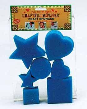 Wholesale Craft Sponges Asst. Shapes