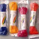 Wholesale 50Ft Cloth Rope Assorted Clrs