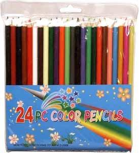 Wholesale Color Pencils 24Pc Set