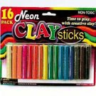 Wholesale 16 Neon Modeling Clay