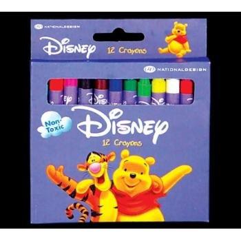 Wholesale DISNEY WINNIE THE POOH 12 Color Crayon