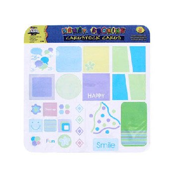 Wholesale CARDSTOCK TAGS 6 ASST